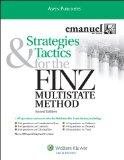 Strategies & Tactics for finz Multistate Method 2009 Edition