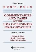 Commentaries & Cases Law Business Organization 2009-2010 Stat Sup