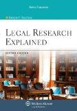 Legal Research Explained 2e