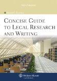 Concise Guide To Legal Research & Writing