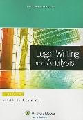 Legal Writing and Analysis 3e