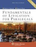Fundamentals of Litigation for Paralegals 7e W/ Cd