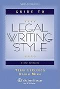 Guide to Legal Writing Style : 5th Edition