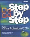 Microsoft Office Professional 2010 Step by Step (Step By Step (Microsoft))