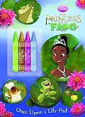 Once Upon a Lily Pad (Color Plus Chunky Crayons)(Disney's The Princess and the Frog)