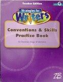 Teacher's Edition Conventions & Skills Practice Book Grammar, Usage, & Mechanics Level G (St...