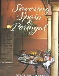 Savoring Spain and Portugal - Joyce Esersky Goldstein - Hardcover