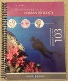 Inquiry Into Life Laboratory Manual: Human Biology 2012-2013, University of Mississippi Biol...