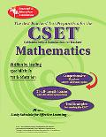 California CSET Math 7-12 (REA) The Best Teachers' Test Prep