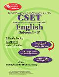 CA CSET English Subtests I-IV