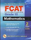 Florida FCAT Grade 10 Math (REA): The Best Test Prep for the FCAT