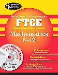Florida FTCE Mathematics 6-12 w/ CD-ROM (REA)