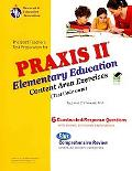 PRAXIS II Elementary Ed: Content Area Exercises 0012 (REA) (Test Preps)