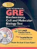 GRE Biochemistry,  Cell and Molecular Biology (REA) w/CD-ROM - The Best Test Prep