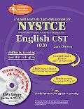 NY NYSTCE CST ENGLISH with CD-ROM (REA)