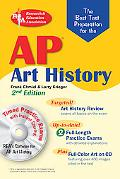 AP Art History w/Art CD and CD, 2nd ed. (REA) - the Best Test Prep for the AP