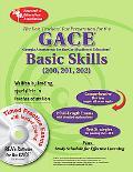 GACE Basic Skills (200, 201, 202) W/CD