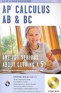 AP Calculus AB & BC  w/ CD-ROM (REA) (REA Test Preps)