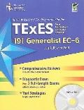 The Best Teachers' Test Preparation for the TExES 191 Generalist EC-6: With REA's Testware o...