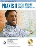 Praxis II Social Studies Content Knowledge (0081) w/CD-ROM (PRAXIS Teacher Certification Tes...
