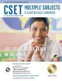 CSET Multiple Subjects Plus Writing Skills w/CD-ROM (CSET Teacher Certification Test Prep)