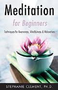 Meditation for Beginners Techniques for Awareness, Mindfulness & Relaxation