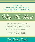 Why We Hurt A Complete Physical & Spiritual Guide to Healing Your Chronic Pain