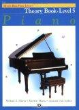 Alfred's Basic Piano Library Piano Course, Theory Book Level 5
