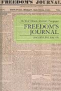 Freedom's Journal The First African-American Newspaper