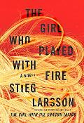 The Girl Who Played with Fire (Random House Large Print (Cloth/Paper))