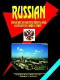 Russian Research Instirutions and Scientists Directory