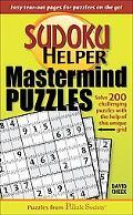 Sudoku Helper Mastermind Puzzles