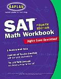 SAT Math Workbook Kaplan Test Prep and Admissions