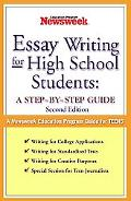 Persuasive Essay-Writing Steps