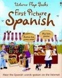 First Picture Spanish (Usborne Flap Books)