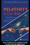Relativity in Our Time From Physics to Human Relations