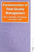Fundamentals Of Total Quality Management Process Analysis And Improvement