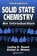 Solid State Chemistry An Introduction