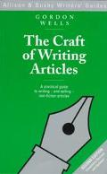 Craft of Writing Articles - Gordon Wells - Hardcover - 2ND