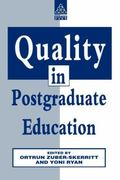 Quality in Postgraduate Education