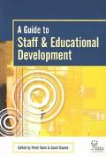 Guide to Staff and Educational Development