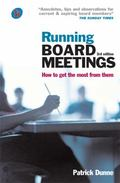 Running Board Meetings How to Get the Most from Them