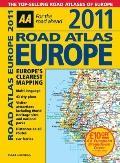 AA Road Atlas Europe 2011