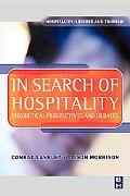 In Search of Hospitality: Theoretical Perspectives and Debates