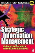 Strategic Information Management Challenges and Strategies in Managing Information Systems