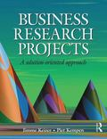 Business Research Projects A Solution-oriented Approach