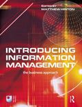 Introducing Information Management The Business Approach