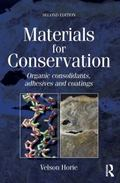 Materials for Conservation : Organic consolidants, adhesives and Coatings