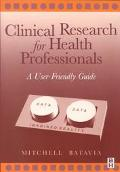 Clinical Research for Health Professionals A User-Friendly Guide