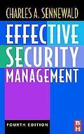 Effective Security Management